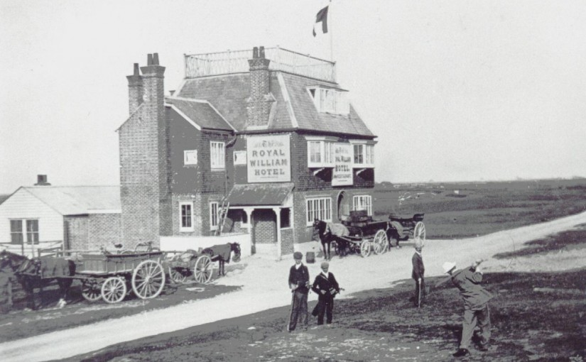 The Opening of the Royal William Hotel