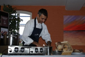 Copy of Paul Webb's Cookery Class and demonstration at the Fish Cafe