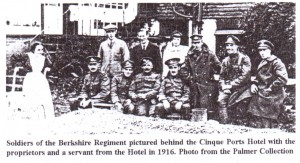 Soldiers in Rye 1916