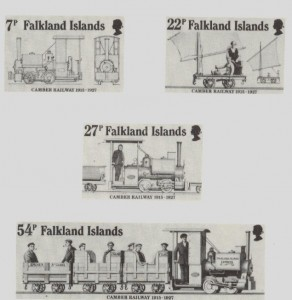 Falklands Camber Railway Stamps