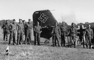 Stuka Dive Bomber which Crash Landed at Pett Aug 1940