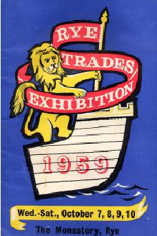 Rye Trades Exhibition in 1959