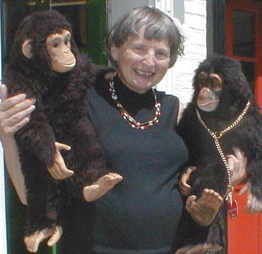 Dean's Designer with her Chimps
