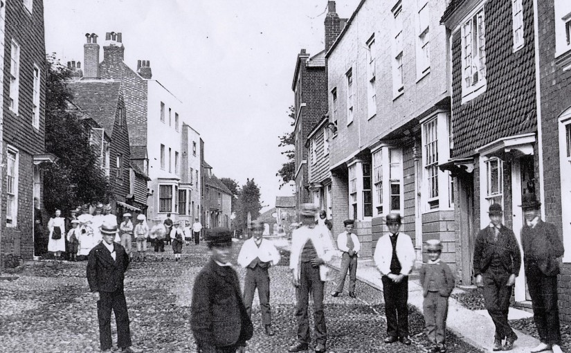 Watchbell Street c 1875