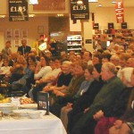 Full House at Jempsons to see James Martin