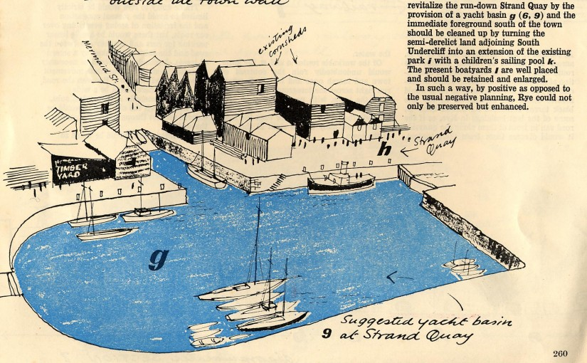 The 1961 Rye Marina Plan