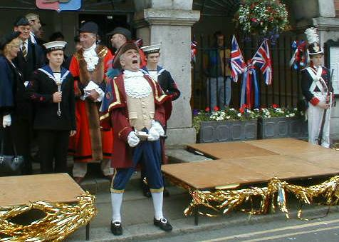 The Singing, Shouting and Dancing Town Crier