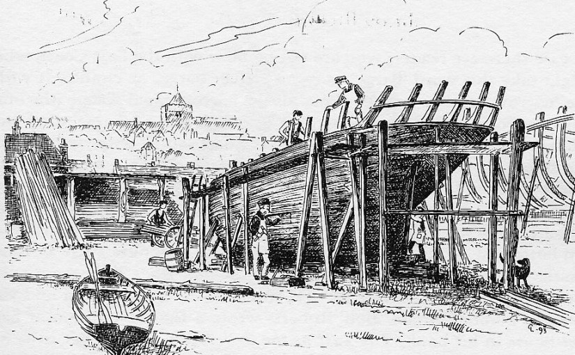 The Amazing Story of a Rye Shipyard