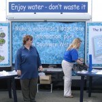 Southern Water put on a fine display at their stand. Southern Water