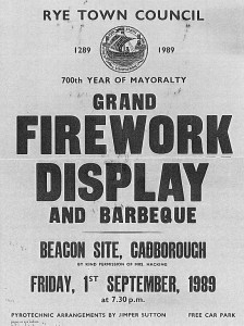 Firework Display 1989