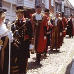 Mayors of the Cinque Ports Processing through Pump Street