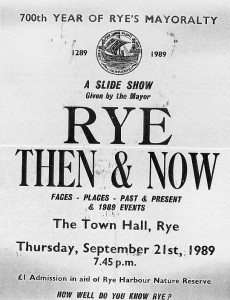 Rye Then & Now