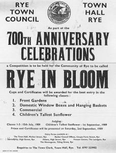 Rye in Bloom 1989