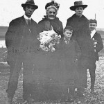 Thomas Smith with his wife, probably taken after the funeral of brother