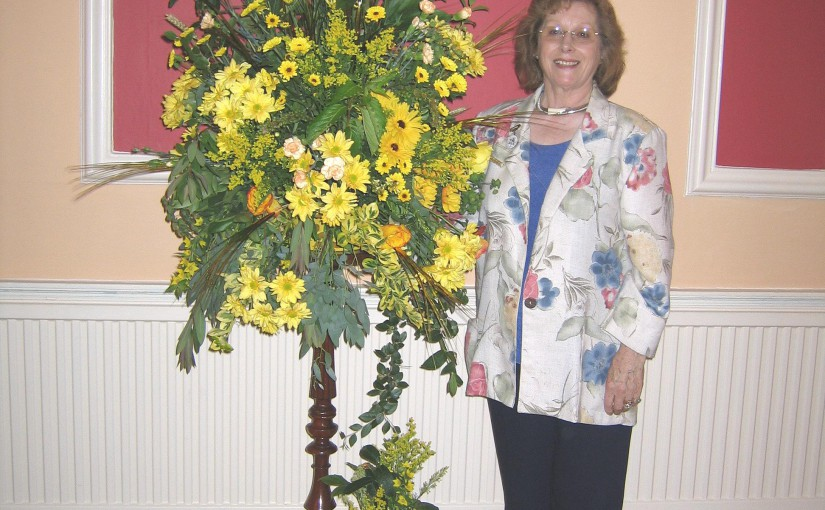 50th. Anniversary of Rye & District Flower Club
