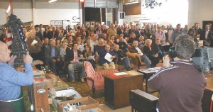 Bidders at the Auction