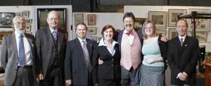 The Rye Auction Galleries Staff with Tim Wonnacott