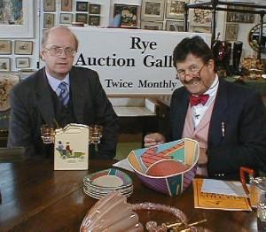 Tim Wonnacott with Auctioneer Andrew Paine