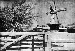 The Old Mill After Snow Storm