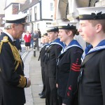 Lord Warden with Rye Sea Cadets