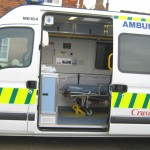 Rye St. John's New Ambulance made possible by the people of Rye