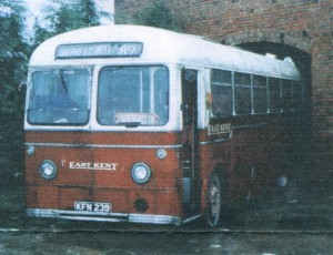 The First of the New A.E.G. Buses to be used from Rye