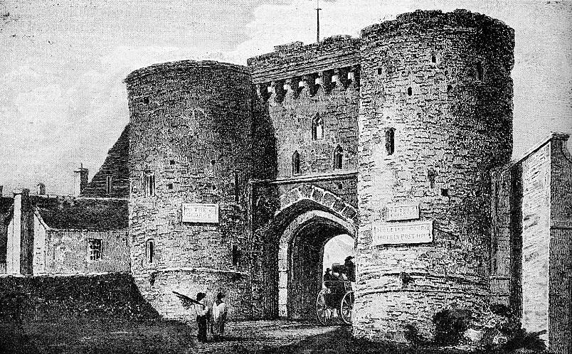 The Landgate In Old Times
