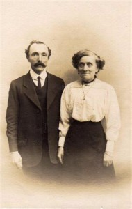 Bill Bannister and Mrs. Bannister. Mr Bannister was a Baker who worked