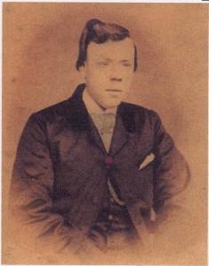 Emily's son John Gasson c.1860