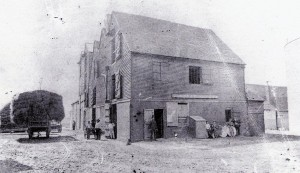The Strand Coal Warehouse. Photograph taken by E.T. Gasson in the 1880's