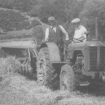 A similar Ferguson to the ones used on the 'empire' farms after 1946. In 1946 a Ferguson tractor cost just £350