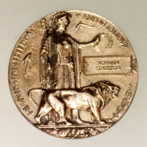 Norman Streeton's Death Penny