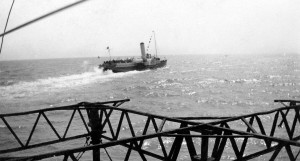 Paddle Steamer from Hastings Pier From the Eric Streeton Collection