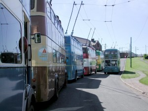 Some of the Hastings Trolleybus Fleet