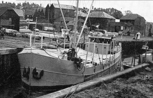 Timber Boat with cargo for Hinds