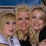 Gemmaine Baughurst (centre) with 1st Princess is Cassie Abbott and