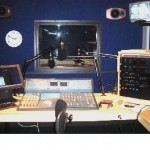 A typical studio set-up