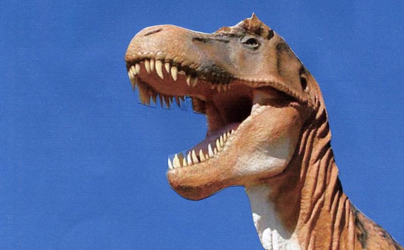 Dinosaur At Hastings