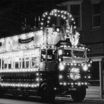No3 (DY4965) decorated for Queen Elizabeth II Coronation 1953 at West