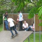 Skate Park at Rye Cricket Salts