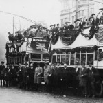 The Opening Ceremony of The Hastings Trolleybus System on the 1st