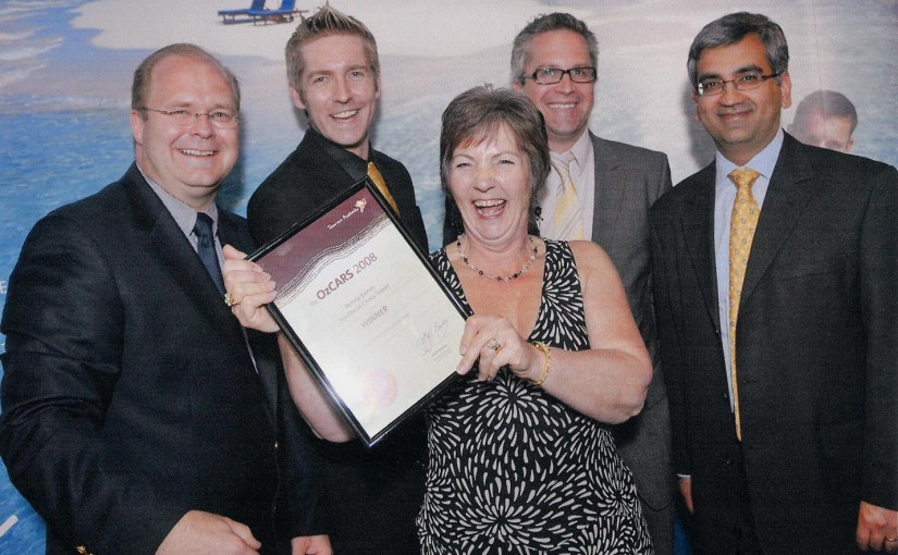 Rye Travel Agent Top Australian Award