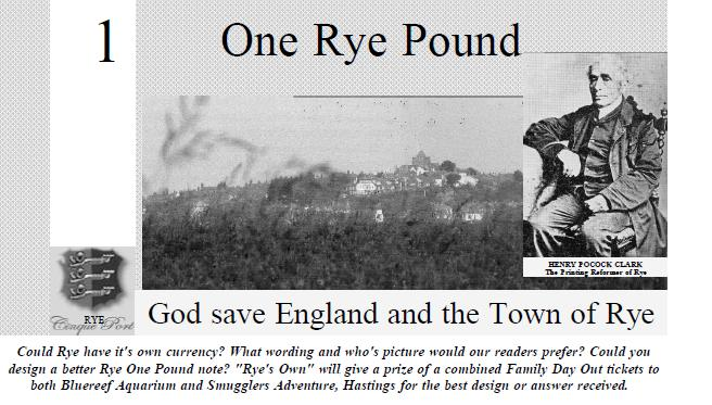 Rye Pounds Anyone?