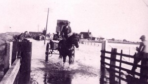 Rye Harbour Village was flooded after the storm