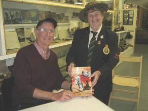 Alice Racher Womens' Land Army meets Richard Holdsworth