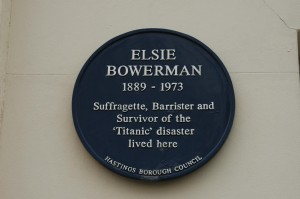 Elsie Bowerman - Hastings Titanic Surviver