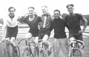 Rye Wheelers Prewar Track Team