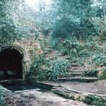 The 'Roman' bath, in 2000, courtesy of Ron Fellows.