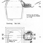 Plan and Section of the Ice House