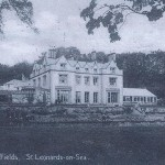 Postcards of the House and of the woods, about 1920, in its days as a Prep School.